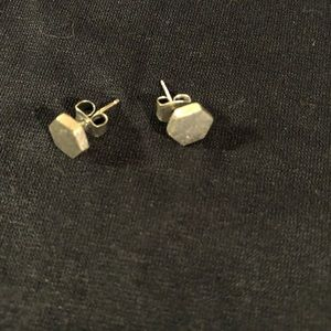 Madewell Jewelry - Madewell silver-plated stud earrings